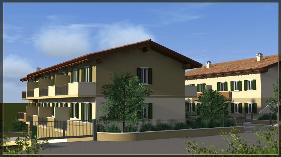 Villetta a schiera in vendita a pescantina persicum vsc 1837 for Casa a 5 piani in vendita